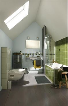 1000 images about skylights on pinterest roof window - Velux salle de bain ...