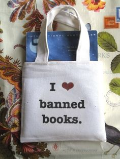 I Heart Banned Books - Paperback Tote f2435c7cf3571