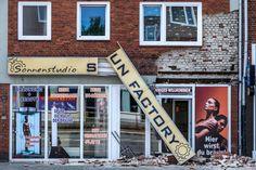 2014-07-29 Teile einer Hausfassade abgestürzt