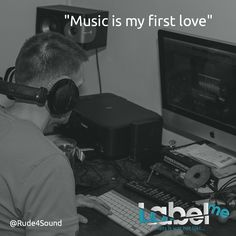 """Music is my first love"" @Rude4Sound #LabelMeFilm #making_of MEER_WETEN? #LMF"