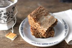Chai Gingerbread Bars from Buttered Side Up.