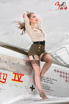 ❥ #PinUps In #War ❥ - Salute Our Veterans by Supporting the Businesses of www.VeteransDirectory.com and Hiring Veterans. Post Jobs at www.HireAVeteran.com