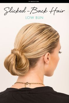 We've been paying close attention to the fall and winter trends, and one we're absolutely loving is the slicked-back hair style. Don't be intimidated by this runway-style hairdo, because we have three ways to make this look easily wearable! See how to get the look!