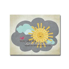 8x10 You Are My Sunshine - Digital Art Printable (300dpi .JPG to Print On Your Own) - Instant Download