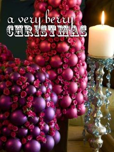 Image detail for -preston bailey has created these gorgeous very berry christmas ...