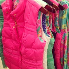 Lilly Pulitzer Kate Puffer Vests