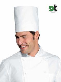 CAPPELLO CUOCO ELITE BIANCO ISACCO - chef ristorante