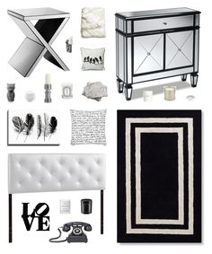 """Lexi"" by belenloperfido ❤ liked on Polyvore featuring interior, interiors, interior design, home, home decor, interior decorating, Baxton Studio, Kate Spade, Dot & Bo and Byredo"