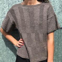 Vibe i Havblik Tweed Summer Knitting, Hand Knitting, Knitting Patterns, Crochet Patterns, Crochet Tank, Knit Crochet, Girls Sweaters, Knitting Projects, Diy Clothes