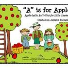Get ready for fall with this adorable APPLE unit, perfect for young learners!   In This Packet:  Pages 3-4: Apple-Themed Vocabulary Words  Page 5: ...