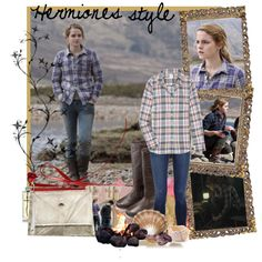 Hermiones style, created by borntotry on Polyvore