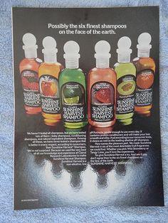 1970's Clairol Sunshine Harvest Shampoo - I think I liked these better than the original Herbal Essence shampoo.