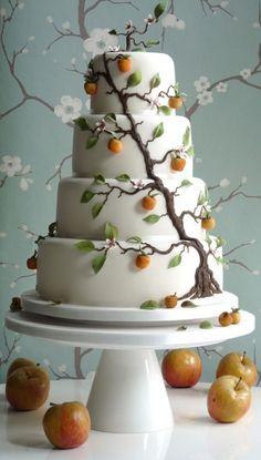 MARZIPAN ON CAKE!