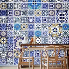 Talavera Traditional Tile Decals.