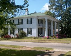 Plantation house in Alabama