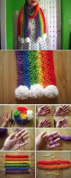 Finger Knitting Projects You Will Love To Try