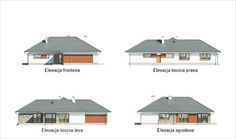 projekt domu M176b Nowe możliwości - wariant II - Murator projekty Gazebo, Shed, Outdoor Structures, Outdoor Decor, Home Decor, Kiosk, Decoration Home, Room Decor, Pavilion
