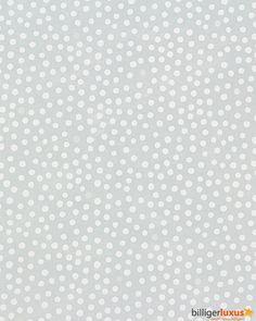 Rasch Tapete Bambino 2015 Punkte graublau weiß 288216 Tapeten Rasch Bambino 2015
