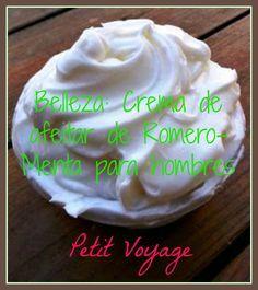 Belleza: Crema de afeitar de Romero-Menta para hombres https://instagram.com/petit8voyage/ https://twitter.com/petitvoyage8
