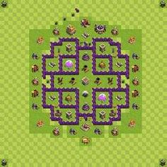 clash of clans Th7 base - Google Search
