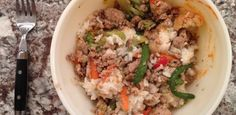 Recipe: Turkey & Rice Bowl | Jessie Fitness, Inc.