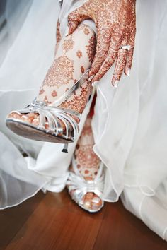 Henna, an Indian wedding tradition. | Deepa and Mahesh's wedding is photographed by Edmund Leong Motion & Stills.