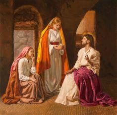 Marta y Maria andan juntas.  Santa Teresa