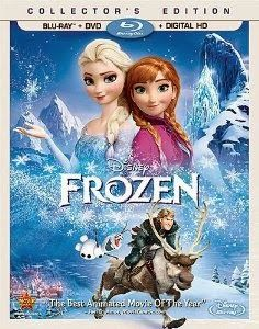 Pre-Order Disney Frozen Blu-Ray Combo Pack for 49% Off  + Price Guarantee