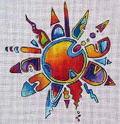 Crazy Sun  - Design by:  Terry Medaris