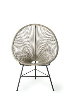 acapulco indoor outdoor woven lounge chair backyard escape love