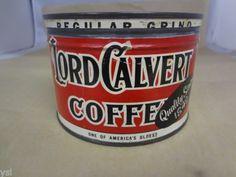 Lord Calvert Coffee