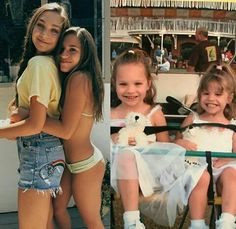 This is so cute! Credits to: Max-zieg13 on instagram #Sisters #MaddieZiegler #KenzieZiegler #Photos #Memories