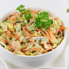 Polish Recipes, Polish Food, Salad Dressing, Coleslaw, Cabbage, Food And Drink, Tasty, Favorite Recipes, Baking