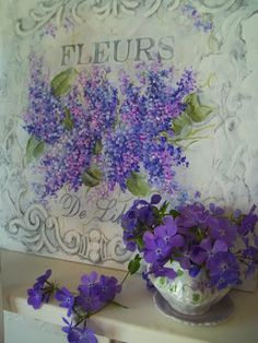 All the things I Love! Cats & Pretty things too. Purple Hues, Shades Of Purple, Green And Purple, Purple Flowers, Red Roses, Lavender Cottage, Lavender Blue, Flowers Nature, Beautiful Flowers