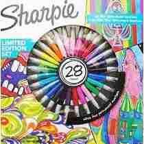 Marcadores Sharpie Permanente X28 Un.