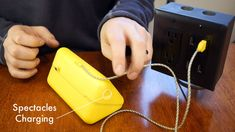 The Anywhere Outlet : 7 Steps (with Pictures) - Instructables Conduit Box, Best Desk Lamp, Black Pipe, Box Tv, Lamp Light, Pictures, Lamps, Diy, Lights