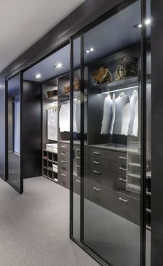 Home Room Design, Dream Home Design, Modern House Design, Modern Kitchen Design, Wardrobe Room, Wardrobe Design Bedroom, Modern Wardrobe, Modern Closet, Modern Bedroom