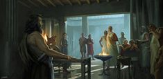 View an image titled 'Greek Aristocrats Art' in our Assassin's Creed Odyssey art gallery featuring official character designs, concept art, and promo pictures. Assassins Creed Black Flag, Assassins Creed Odyssey, Fantasy Story, Fantasy Art, Biblical Art, Character Art, Character Creation, Character Ideas, Video Game Art