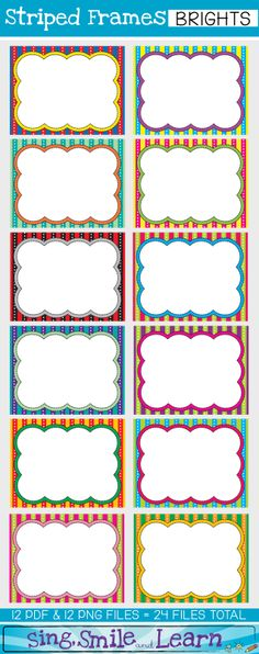 I got the freebie and wanted more and here it is!! Check out ALL 3 COLLECTIONS in this set. GREAT FOR PRODUCTS AND CLASSROOM =)