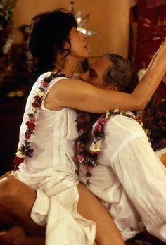 """""""Flirting With Disaster"""" movie still, 1996.  L to R: Lily Tomlin, Alan Alda."""