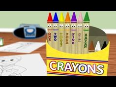 Learn to count to 10 and back again from ten talking crayons: http://www.youtube.com/watch?v=R8oA8IT65mw #education #kids #numbers