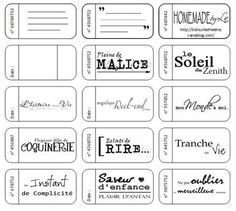 tickets à imprimer Printable Tags, Printables, Bujo, Diy Agenda, Ticket, Birthday Scrapbook, Pocket Scrapbooking, Scan And Cut, Les Sentiments