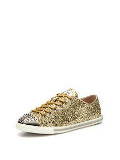 Glitter Sneaker by Miu Miu on Gilt.com
