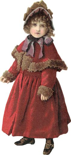 Zibi Vintage Scrap. Darling little coat dress idea for your steampunklet