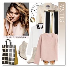 """Pastels"" by drn57 ❤ liked on Polyvore featuring Marni, Sportmax, rag & bone, Steve Madden, Helmut Lang, Dolce&Gabbana, Dorothy Perkins and Supra"