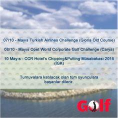 8-9 Mayıs Golf Turnuvaları.. #golf #golfing #golfer #golfturnuva #golfmagazine  #tdgolf #turkiyedevedunyadagolf