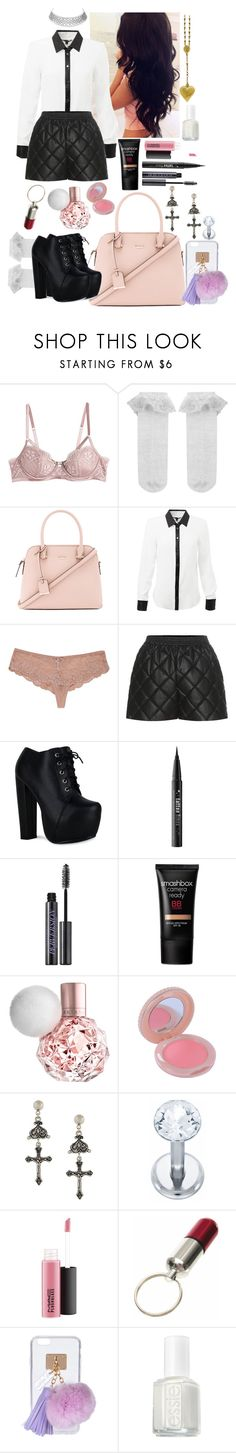 """dirty little damsel"" by marieantointte ❤ liked on Polyvore featuring Heidi Klum, Perfection Beauty, Monsoon, Kate Spade, STELLA McCARTNEY, CO, Kat Von D, Urban Decay, Smashbox and Paul & Joe"