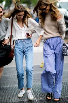 mom jeans I think I have this pair on the left!