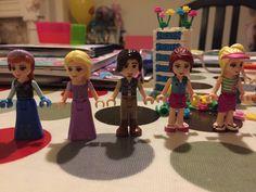 Lego friends people