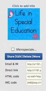 Life in Special Education Blog and an AWESOME Common core App!